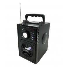 Wireless Bluetooth Speaker Media-Tech Boombox BT Next MT3166 600W, with Smartphone Holder and Remote Controler Black