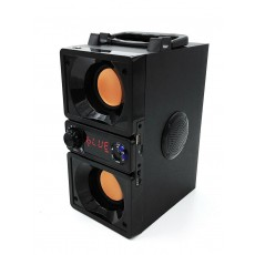 Wireless Bluetooth Speaker Media-Tech Boombox Dual BT MT3167 650W, with Smartphone Holder and Remote Controler Black