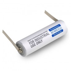 Rechargeable Battery Panasonic Eneloop BK-4MCCE Type U 750 mAh size AAA Ni-MH 1.2V with parallel grated shields