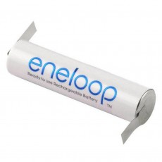 Rechargeable Battery Panasonic Eneloop BK-4MCCE Type Z 750 mAh size AAA Ni-MH 1.2V with grated shields