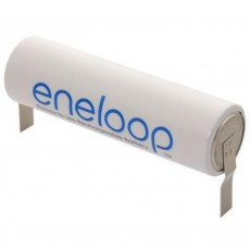 Rechargeable Battery Panasonic eneloop BK-3MCCE Type U 1900 mAh size AA Ni-MH 1.2V with parallel grated shields