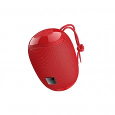 Wireless Speaker Borofone BR6 Miraculous Red V5.0 TWS 5W, IPX5, Microphone, FM, USB & AUX Port and Micro SD