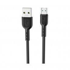 Data Cable Hoco X33 Surge USB to Micro Fast Charging 4A Black 1m