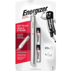 Torch Energizer Pen Light 35 Lumens with 2 ΑAA Batteries and Metal Body in Pen Shape