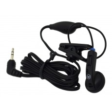 Hands Free Mono Ancus HiConnect 2.5mm without operating button for Dect Phones & Walkie Talkie Black Bulk