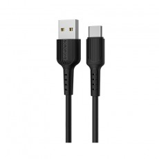Data Cable Borofone BX16 Easyt USB to USB-C 2.0A 1m Black