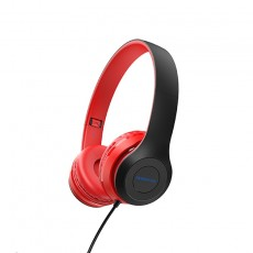 Headphone Stereo Borofone BO5 Star sound 3.5mm Red with Microphone and Control Button