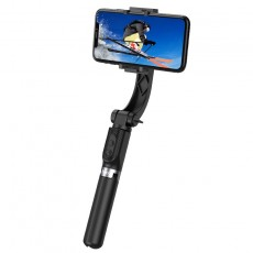 Selfie Stick Hoco K14 Element Extendible Black with Tripod and Detachable Remote