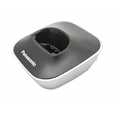 Charging Cradle for Dect Panasonic KX-TG1611 Black-White Bulk
