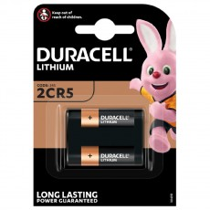 Battery Duracell Lithium Long Lasting 2CR5 6V Pcs. 1