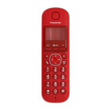 Housing Handset for Panasonic KX-TGB210 Red Bulk