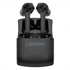 True Wireless Bluetooth Lenovo HT0 V.5.0 IPX5 Black with Touch Button and Great Battery Life