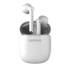 True Wireless Bluetooth Lenovo HT30 V.5.0 White with Touch Button and Easy Connection