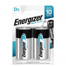 Battery Energizer Max Plus LR20 size D Pcs. 2