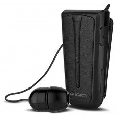 Bluetooth Hands Free FIRO H109 Bluetooth V.4.1 with Vibration Alert, Multi Pairing Black