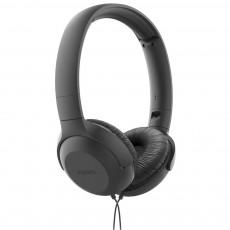 Philips Stereo Headphone On-Ear SHS TAUH201BK/00 3.5 mm Black with Microphone for Mobile Phones, mp3, mp4 and sound devices