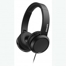 Philips On-Ear Stereo 3.5mm TAH4105BK/00  Black With Microphone