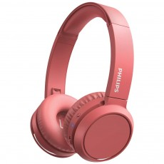 Philips Stereo Headphone TAUH202BK/00 Red with Microphone for Mobile Phones, mp3, mp4 and sound devices