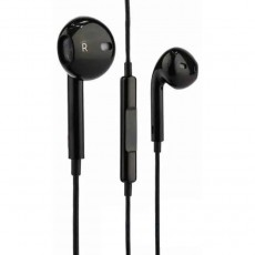 Hands Free Hoco M1 Original Series Earphones Stereo 3.5mm Black with Micrphone and Operation Control Button