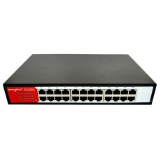 Ethernet Switch Tengfei HC-G1024D 5*10/100Mbps 24 Port White 5V 100mA