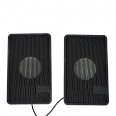 Multimedia Speaker Stereo K22 with Built-in Amplifier, 3.5mm Jack and USB Charge, Black