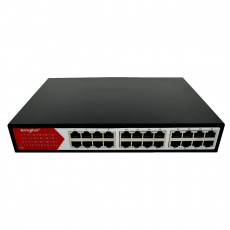 Ethernet Switch Tengfei HC-F1024D 5*10/100Mbps 24 Port Black 24W