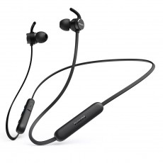 Bluetooth Hands Free Philips TAE1205BK/00 Magnetic Black Mικρόφωνο With Echo Cancellation Ιn-ear IPX4 andUSB-C
