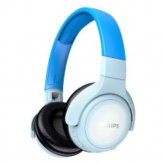 Bluetooth Stereo Headphone Philips TAKH402BL/00 V5.0 Built-in microphone Blue LED panel User-friendly button control