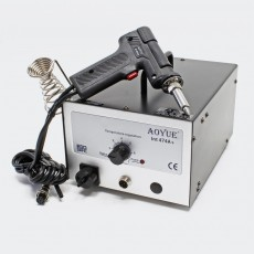 Desoldering Station Aoyue Int474A+  with Hot Air Gun 80W