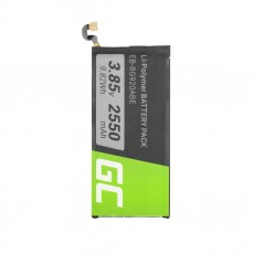 Battery Green Cell BP82  type Samsung Galaxy S6 EB-BG920ABE 2550mAh 3.85V