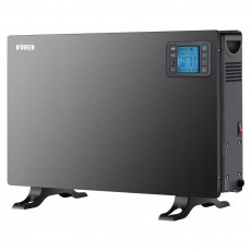 Convector N'OVEEN CH-7100 LCD Smart 2000W. With Time Programmer and Remote Control. Black